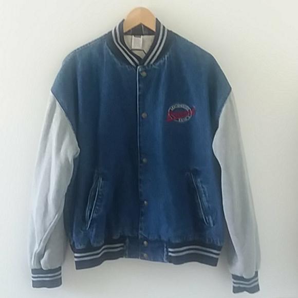 VTG Levi's denim varsity jacket